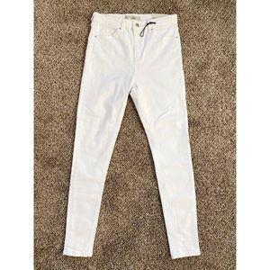 TOPSHOP jamie high waist ankle skinny jeans 28 NWT